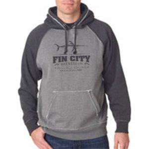 Fin City Two Tone Hoodie