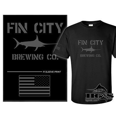 Fin City Performance Tactical T-Shirt