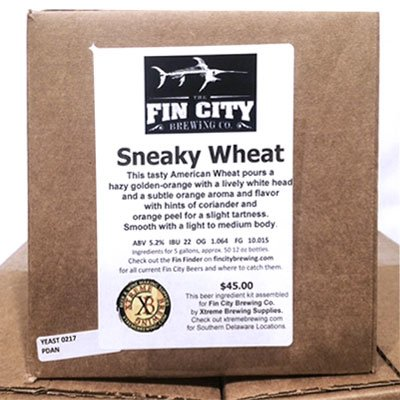 Sneaky Wheat Brewing Kit