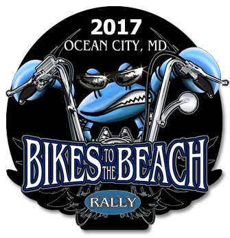 2017 Bikes to the Beach logo